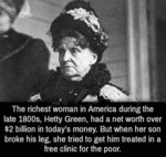 The Richest Woman In America During The Last...