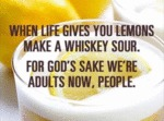 When Life Gives You Lemons Make A Whiskey Sour