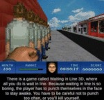 There Is A Game Called Waiting In Line 3d...