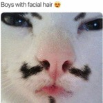 Boys With Facial Hair