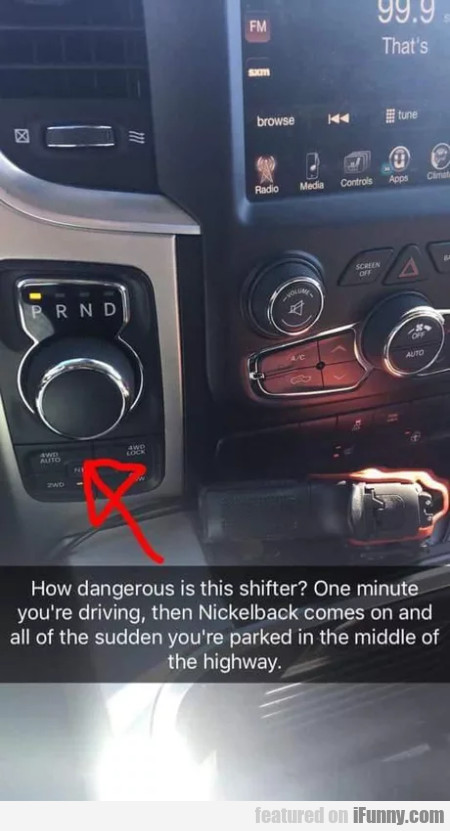 How Dangerous Is This Shifter - One Minute...
