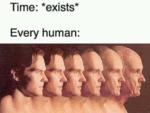 Time - Exists - Every Human
