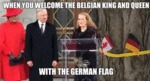 When You Welcome The Belgian King And Queen...
