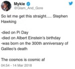 So Let Me Get This Straight.. Stephen Hawking