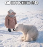 Kid Meets Kid In 1975