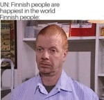 Un: Finnish People Are Happiest In The World...