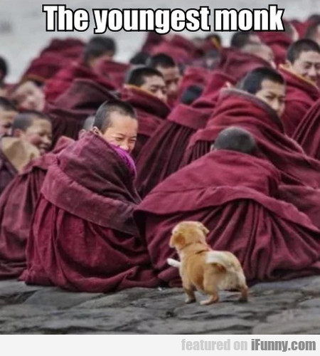 The youngest monk