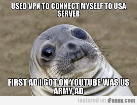 Used Vpn To Connect Myself To Usa Server...