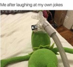 Me After Laughing At My Own Jokes