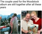 The Couple Used For The Woodstock Album Are...