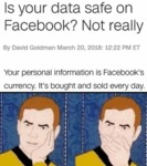 Is Your Data Safe On Facebook - Not Really