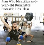 Man Who Identifies As 6-year-old Dominates...