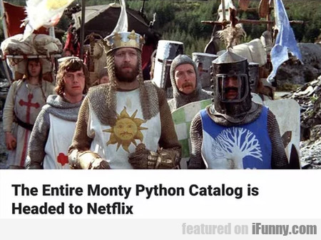 The Entire Monty Python Catalogue Is Headed To...