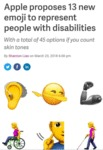 Apple Proposes 13 New Emoji To Represent...