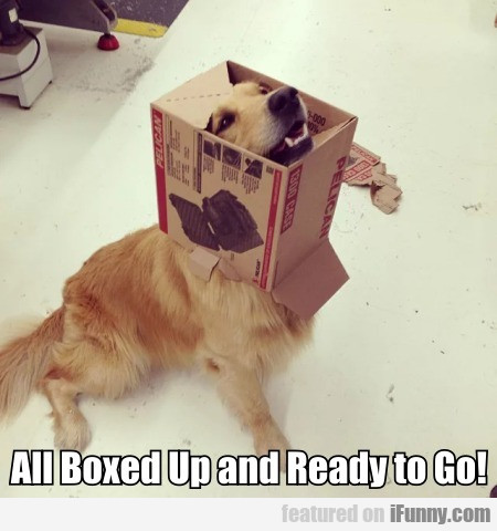 All Boxed Up And Ready To Go!
