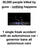 30000 People Killed By Guns - Nothing Happens...