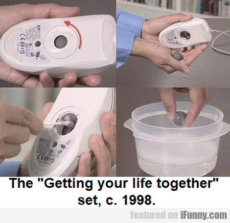 The Getting your life together set, c. 1998