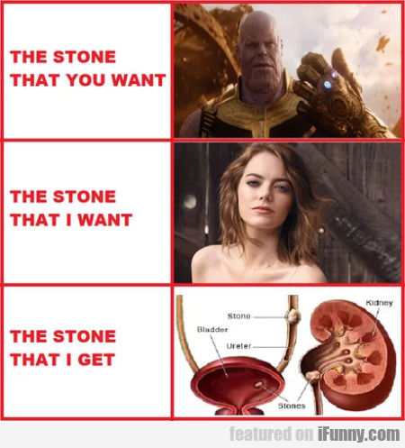 The Stone That You Want - The Stone That...
