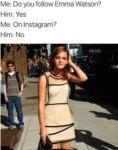 Do You Follow Emma Watson? - Yes...