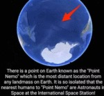 There Is A Point On Earth Known As The...