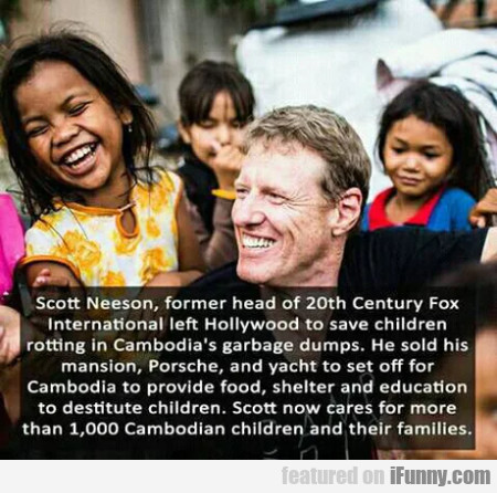 Scott Neeson, Former Head Of 20th Century Fox...