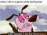 When I Die In A Game While Texting Bae - The...