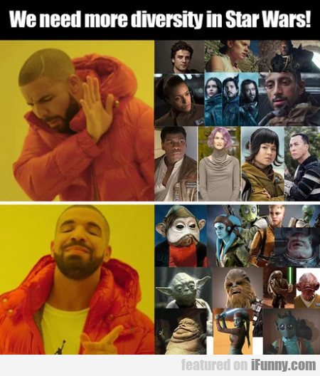 We Need More Diversity In Star Wars!