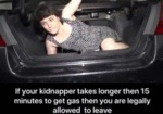 If Your Kidnapper Takes Longer Than 15 Minutes...
