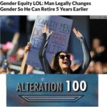 Gender Equity Lol - Man Legally Changes Gender...