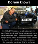 Do You Know? - In 2015, Bmw Released An...