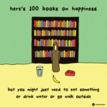 Here's 100 Books On Happiness