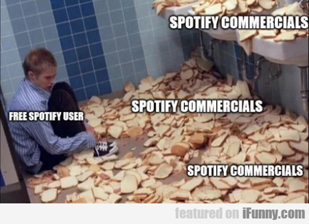 Free Spotify user - Spotify commercials