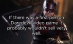 If There Was A First Person Daredevil Video Game..