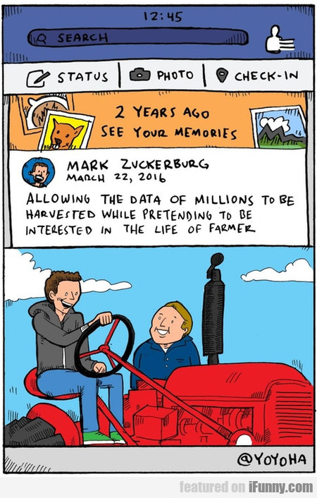 2 Years Ago: See Your Memories - Mark Zuckerburg