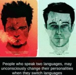 People Who Speak Two Languages, May Unconsciously