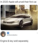 In 2020 Apple Will Unveil Their First Car...