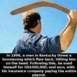 In 1996, A Man In Kentucky Threw A Boomerang...