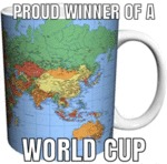 Proud Winner Of A World Cup