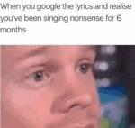 When You Google The Lyrics And Realise You've...