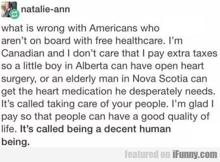 What Is Wrong With Americans Who Aren't On Board..