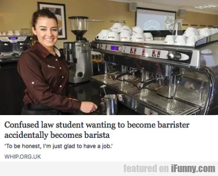 Confused law student wanting to become barrister..