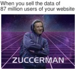 When You Sell The Data Of 87 Million Users...