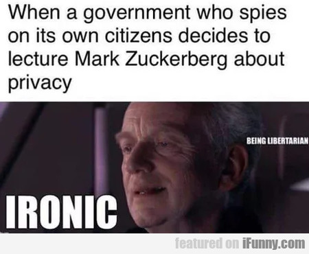 When A Government Who Spies On Its Own...
