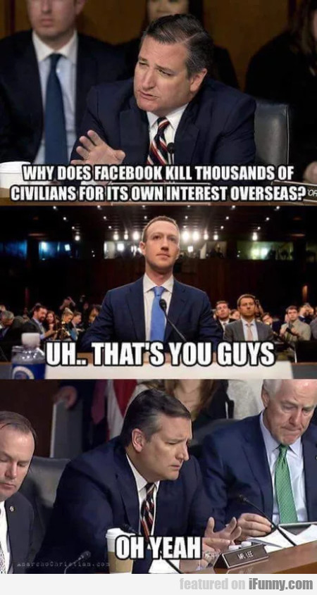 Why Does Facebook Kill Thousands Of Civilians...
