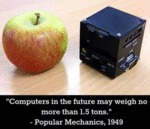 Computers In The Future May Weigh No More Than...