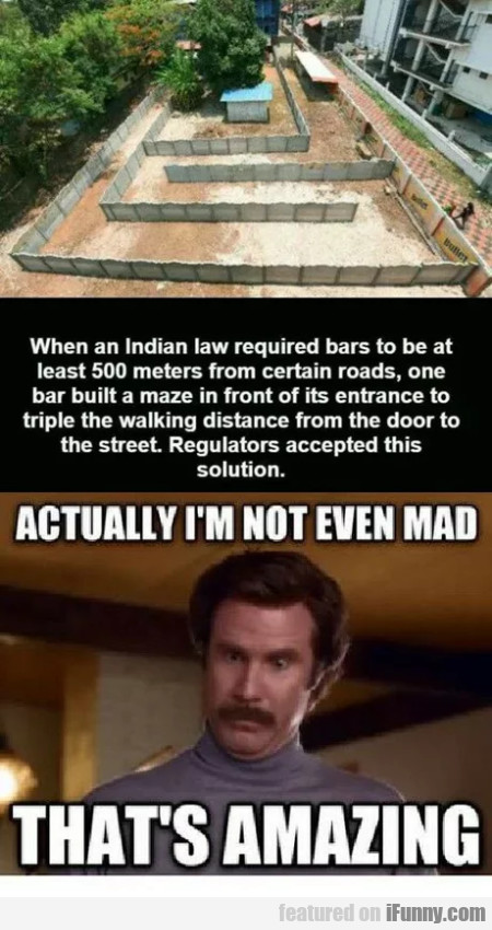 When An Indian Law Required Bars To Be At Least...