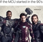 If The Mcu Started In The 90's