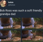 Bob Ross Was Such A Soft Friendly Grandpa Dad