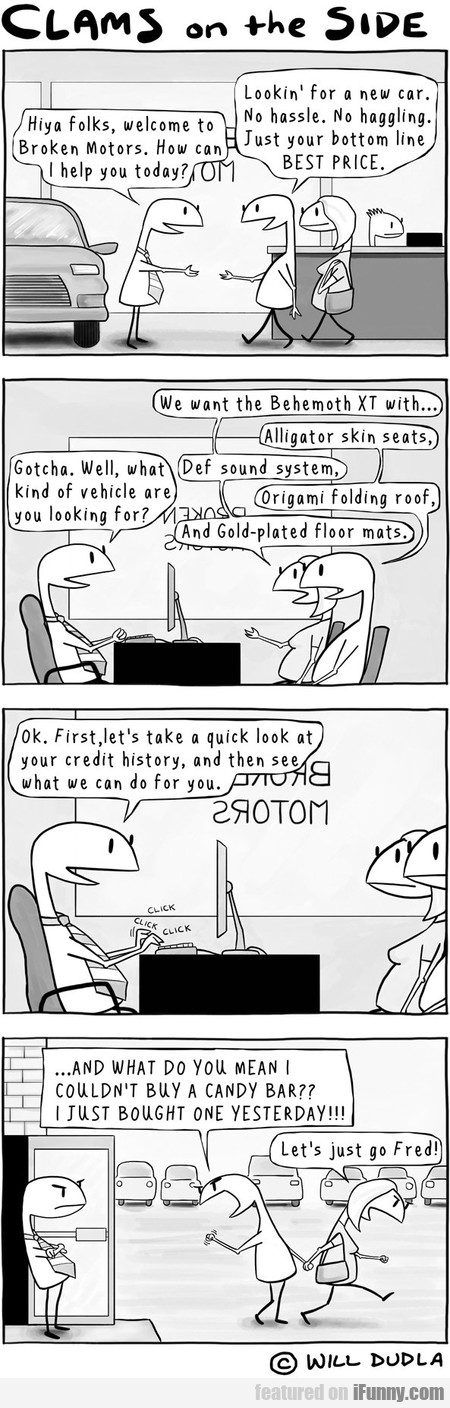 Hiya Folks, Welcome To Broken Motors. How Can I...