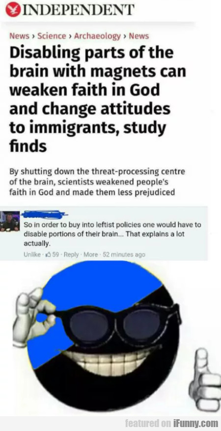 Disabling Parts Of The Brain With Magnets Can...